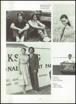 1983 Rolling Fork High School Yearbook Page 166 & 167