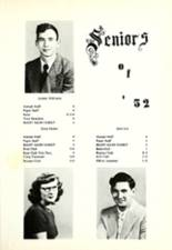1952 Wheatland High School Yearbook Page 14 & 15
