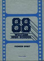1988 Yearbook Western High School