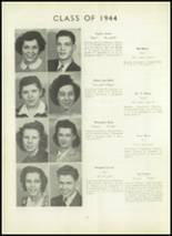 1944 Randolph High School Yearbook Page 20 & 21
