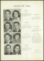 1944 Randolph High School Yearbook Page 22 & 23