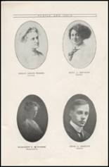 1912 Sullivan High School Yearbook Page 12 & 13
