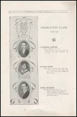 1912 Sullivan High School Yearbook Page 16 & 17