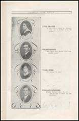 1912 Sullivan High School Yearbook Page 18 & 19