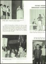 1966 Alvin High School Yearbook Page 106 & 107