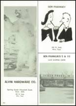 1966 Alvin High School Yearbook Page 220 & 221