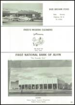 1966 Alvin High School Yearbook Page 226 & 227