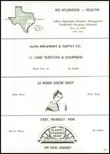 1966 Alvin High School Yearbook Page 230 & 231