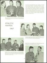 1968 Valley Forge Military Academy Yearbook Page 164 & 165