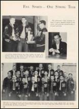 1961 McAlester High School Yearbook Page 124 & 125