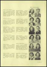 1945 Charleroi High School Yearbook Page 24 & 25