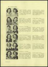 1945 Charleroi High School Yearbook Page 28 & 29