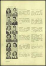 1945 Charleroi High School Yearbook Page 30 & 31