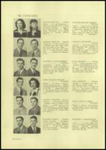 1945 Charleroi High School Yearbook Page 36 & 37