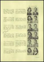 1945 Charleroi High School Yearbook Page 38 & 39