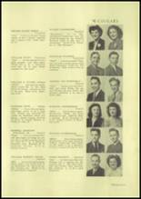 1945 Charleroi High School Yearbook Page 40 & 41