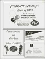 2003 Stillwater High School Yearbook Page 160 & 161