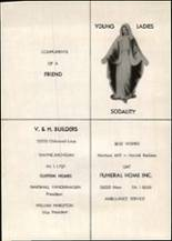 1960 St. Mary's High School Yearbook Page 110 & 111