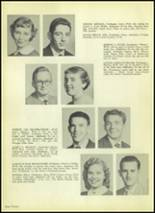 1954 Valley High School Yearbook Page 16 & 17