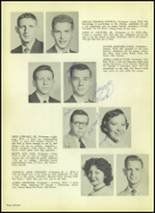 1954 Valley High School Yearbook Page 20 & 21