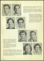 1954 Valley High School Yearbook Page 24 & 25