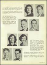 1954 Valley High School Yearbook Page 34 & 35