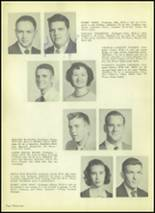 1954 Valley High School Yearbook Page 38 & 39