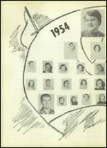 1954 Valley High School Yearbook Page 44 & 45