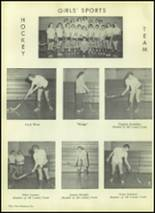 1954 Valley High School Yearbook Page 110 & 111