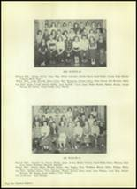 1954 Valley High School Yearbook Page 122 & 123