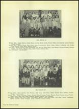 1954 Valley High School Yearbook Page 124 & 125