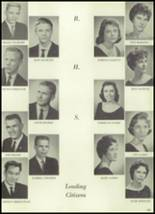 1960 Roswell High School Yearbook Page 108 & 109