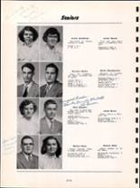 1954 Youngsville High School Yearbook Page 14 & 15