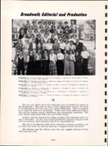 1954 Youngsville High School Yearbook Page 30 & 31