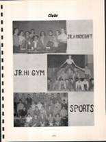 1954 Youngsville High School Yearbook Page 56 & 57