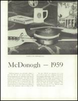 1959 McDonogh High School Yearbook Page 12 & 13