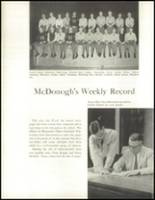 1959 McDonogh High School Yearbook Page 56 & 57