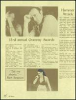 1991 Selma High School Yearbook Page 44 & 45