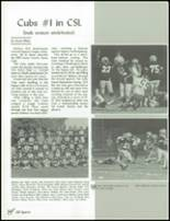 1991 Selma High School Yearbook Page 124 & 125