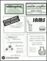 2003 Athens High School Yearbook Page 236 & 237