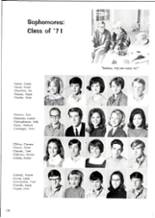1969 Trinity High School Yearbook Page 182 & 183