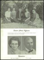1959 Aspermont High School Yearbook Page 16 & 17