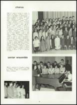 1969 Victor High School Yearbook Page 54 & 55