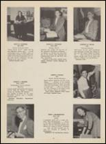 1955 Bloomfield High School Yearbook Page 16 & 17