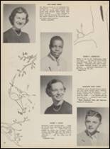 1955 Bloomfield High School Yearbook Page 36 & 37