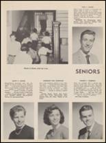 1955 Bloomfield High School Yearbook Page 54 & 55