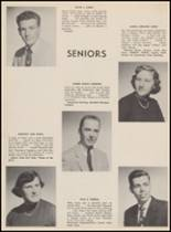 1955 Bloomfield High School Yearbook Page 56 & 57