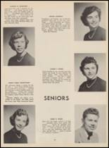 1955 Bloomfield High School Yearbook Page 70 & 71