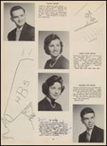 1955 Bloomfield High School Yearbook Page 72 & 73