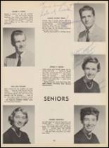 1955 Bloomfield High School Yearbook Page 106 & 107